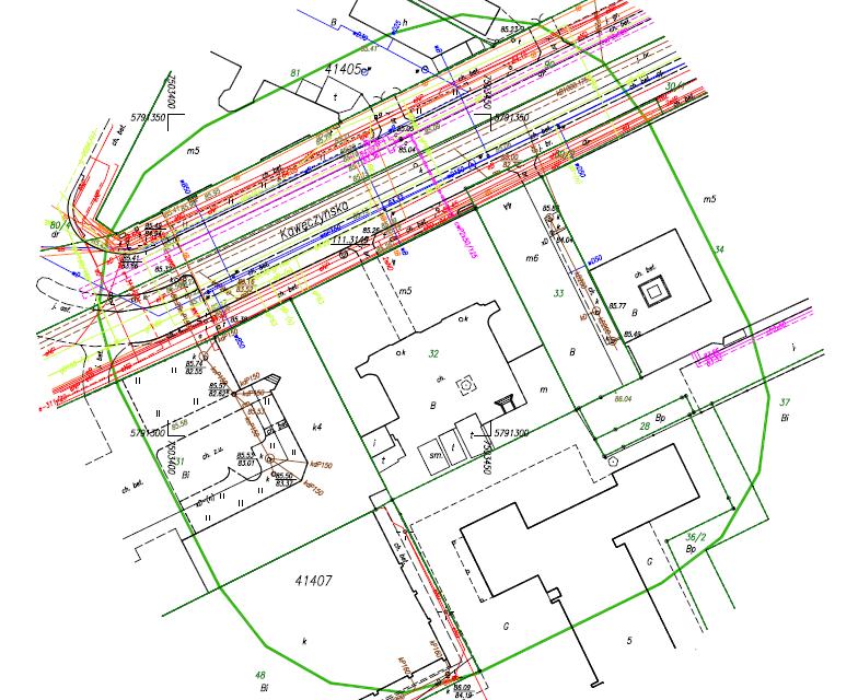 Mapa do do projektu Warszawa